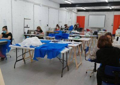 Integra Todos taller de costura